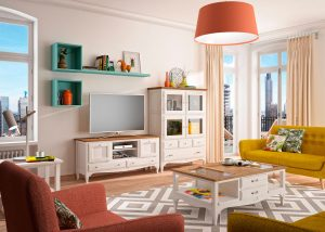 Mueble colonial moderno